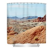 Bowl Of Fire  Shower Curtain