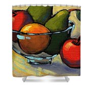 Bowl Of Fruit 5 Shower Curtain