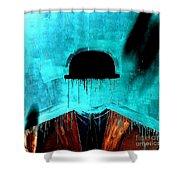 Bowler 2 Shower Curtain
