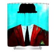 Bowler 3 Shower Curtain