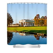 Bowling Green House  Shower Curtain