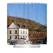 Bowling Harbour House Shower Curtain
