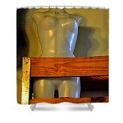 Box Seat Shower Curtain