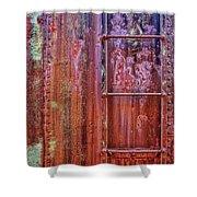 Boxcar Ladder Shower Curtain