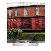 Boxcar Shower Curtain