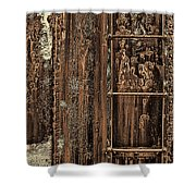 Boxcar's Ladder   Shower Curtain