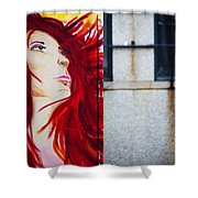 Boxed Art Shower Curtain