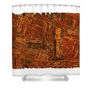 Boxed-in Shower Curtain