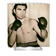 Boxer Max Schmeling - 1930s Shower Curtain