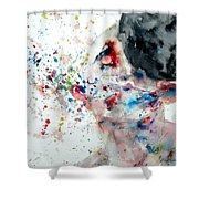 Boxing I Shower Curtain