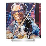 Boyd Tinsley And 2007 Lights Shower Curtain by Joshua Morton