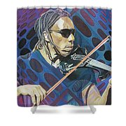 Boyd Tinsley-op Art Series Shower Curtain
