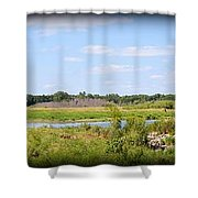 Boylan Marsh Shower Curtain