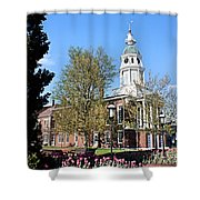 Boyle County Courthouse 3 Shower Curtain
