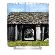 Boyne Barn Shower Curtain