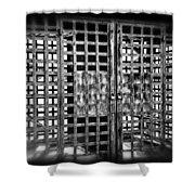Boyne Falls Jail Shower Curtain