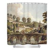 Bradford, From Bath Illustrated Shower Curtain