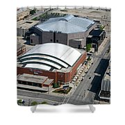 Bradley Center And Us Cellular Arena Shower Curtain