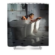 Brads Bath 1 Shower Curtain