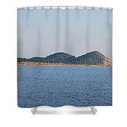 Braghini Beach Shower Curtain