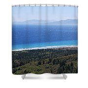Bragini Beach One Shower Curtain