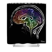 Brain And Mind Shower Curtain