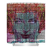 Brain Freeze Shower Curtain