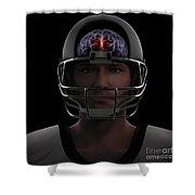 Brain Injury Shower Curtain
