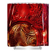 Brake Light 45 Shower Curtain