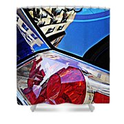 Brake Light 50 Shower Curtain