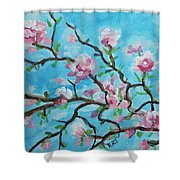 Branches In Bloom Shower Curtain