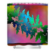 Branches In The Mist 18 Shower Curtain