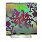 Branches In The Mist 25 Shower Curtain