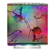 Branches In The Mist 26 Shower Curtain