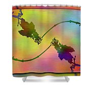 Branches In The Mist 44 Shower Curtain