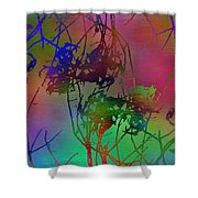 Branches In The Mist 47 Shower Curtain