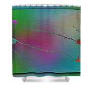 Branches In The Mist 73 Shower Curtain
