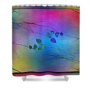 Branches In The Mist 81 Shower Curtain