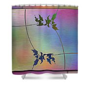 Branches In The Mist 82 Shower Curtain