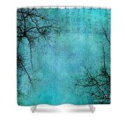Branches Shower Curtain by Priska Wettstein