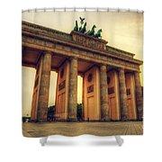 Brandenburg Gate Berlin Germany Shower Curtain