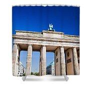 Brandenburg Gate Shower Curtain