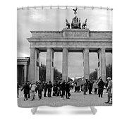 Brandenburger Tor - Berlin Shower Curtain