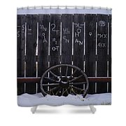 Brands On The Wall Shower Curtain