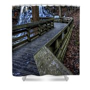 Brandywine Falls Overlook Shower Curtain
