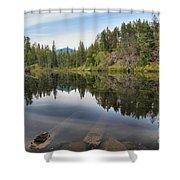 Brandywine Swim Lake Shower Curtain