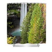 Brandywine Through The Trees Shower Curtain