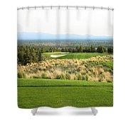 Brasada Canyons Hole #17 Shower Curtain