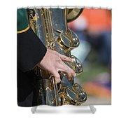 Brass Musical Instrument 01 Shower Curtain
