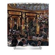 Brasserie Bofinger In The Rue De La Bastille, Paris, 1999 Oil On Canvas Shower Curtain